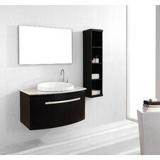 "Anabelle 39.4"" Single Bathroom Vanity Set"