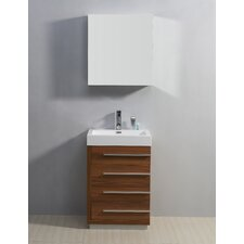 "Bailey 22.4"" Single Bathroom Vanity Set"