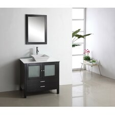 "Brentford 36.2"" Single Bathroom Vanity Set"