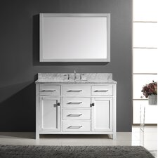 "Caroline 48"" Bathroom Vanity Set with Single Sink"