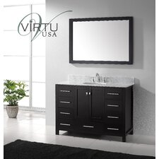 "Caroline Avenue 49"" Single Bathroom Vanity Set with Mirror"