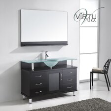 "Vincente 48"" Bathroom Vanity Set"