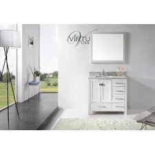 "Caroline Avenue 36.8"" Single Sink Bathroom Vanity Set"