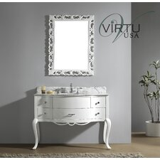 "Charlotte 47.25"" Single Sink Bathroom Vanity Set"