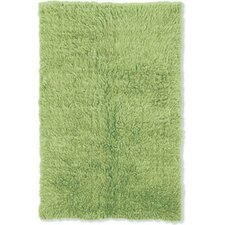 Flokati Lime Green Area Rug