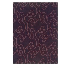 Trio Chocolate/Violet Rug