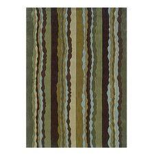 Trio Green&Spa Blue Area Rug