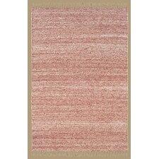 Verginia Berber Red/Natural Area Rug