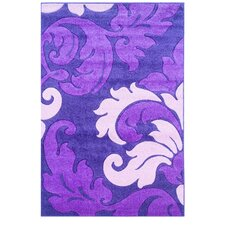 Corfu Purple/Baby Pink Kids Rug