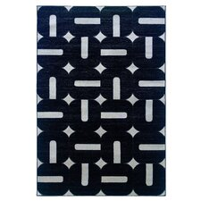 <strong>Linon Rugs</strong> Milan Black/Grey Rug