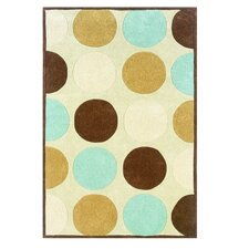 Trio Tan/Ice Blue Rug