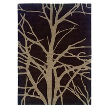 Trio Chocolate/Tan Area Rug