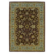 Trio Brown/Light Blue Rug