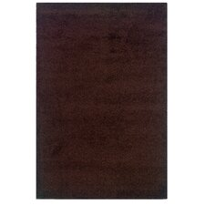 Andros Chocolate Shag Rug