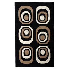 Capri Black/Tan Rug