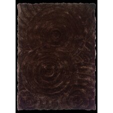 Links Chocolate Circles Rug