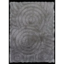 Links Grey Circles Rug