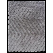 Links Grey Zigzag Rug