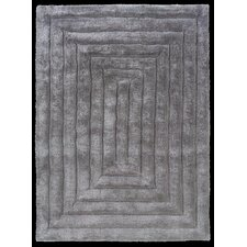 <strong>Linon Rugs</strong> Links Grey Squared Rug