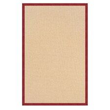 Athena Natural/Burgundy Rug