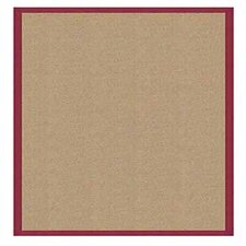 Athena Sisal/Red Area Rug