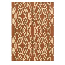 Le Soleil Terracotta/Ivory Outdoor Rug