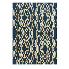 Le Soleil Navy/Ivory Outdoor Rug