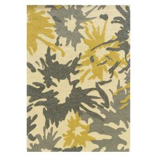 Le Soleil Ivory/Yellow Outdoor Rug