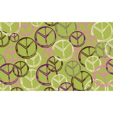 Tween Green Peace Rug