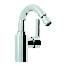 Matrix Single Handle Horizontal Spray Bidet Faucet with Swivel Spout
