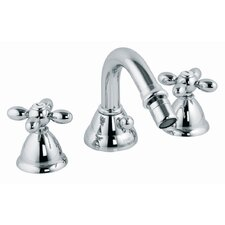 Olivia Double Handle Horizontal Spray Bidet Faucet with Swivel Spout