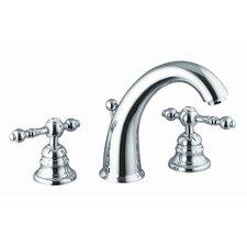 Epoque Widespread Bathroom Sink Faucet with Double Lever Handles