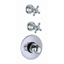 Elizabeth Built-In Thermostatic Faucet with Two Volume Control Handles