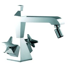 Mp1 Double Handle Horizontal Spray Bidet Faucet with Single Hole