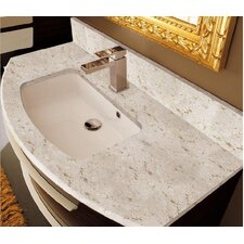 Dune Marmorite Curved Sink