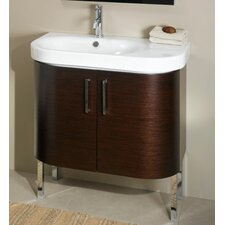 "<strong>Iotti by Nameeks</strong> Rondo 31.5"" Bathroom Vanity Set with Sink"
