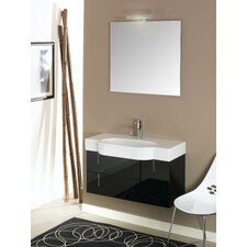 "<strong>Iotti by Nameeks</strong> Enjoy 35.4"" Wall Mounted Bathroom Vanity Set"