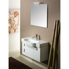 "Enjoy NE4 34.9"" Wall Mounted Bathroom Vanity Set"