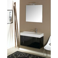 "Enjoy 35.4"" Wall Mounted Bathroom Vanity Set"