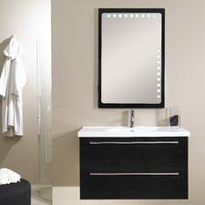 "Fly 41"" Wall Mounted Bathroom Vanity Set with Single Sink"