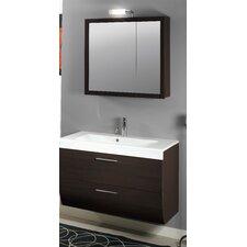 "New Day 38"" Wall Mounted Bathroom Vanity Set with Single Sink"