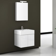 "Smile 23"" Single Bathroom Vanity Set with Mirror"