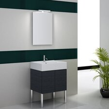 "Smile 23.2"" Wall Mount Bathroom Vanity Set"