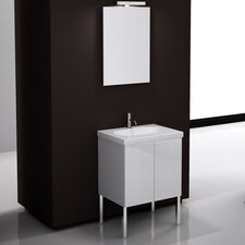 "<strong>Iotti by Nameeks</strong> Trendy 23.6"" Footed Bathroom Vanity Set"