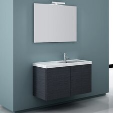 "Space 39"" Wall Mount Bathroom Vanity Set"