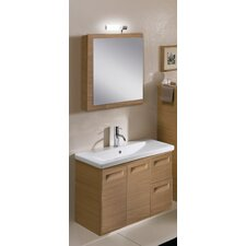 "Integral 30.4"" Wall Mounted Bathroom Vanity Set"