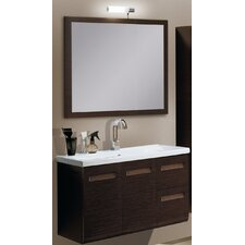 "Integral 39.3"" Wall Mounted Bathroom Vanity Set"