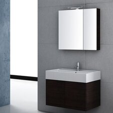 "Smile 32"" Single Wall Mount Bathroom Vanity Set"