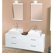 "<strong>Iotti by Nameeks</strong> Aurora 60"" Bathroom Vanity Set"
