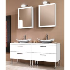 "Aurora 61"" Single Bathroom Vanity Set"